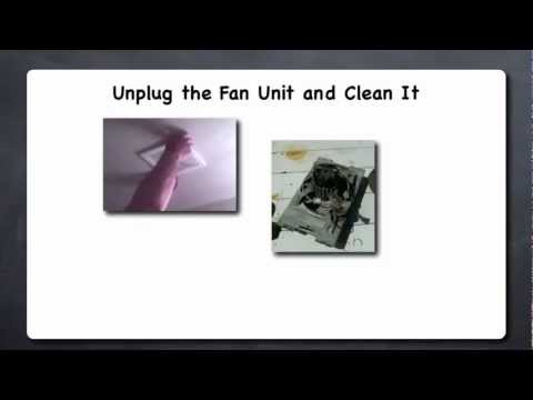 Removing Nasty Gunk from Your Exhaust Fans