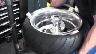 Harley Rear Tire Change #3 (WIDE)