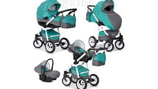 Kinderwagen Test von LCPKids: 3-in1-Kombi-Kinderwagen RIKO Nano