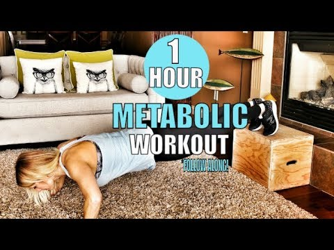 Full Body Metabolic Workout | Fat Burning In Home Workout For Women