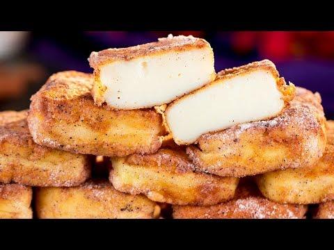 Жареное молоко - простой рецепт самого вкусного испанского десерта! | Appetitno.TV