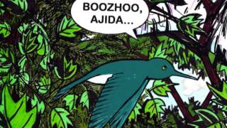 Boozhoo, Ajidamoo (Ojibwe Language Book Advertisement)