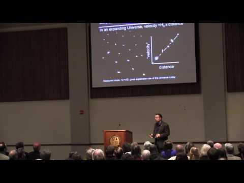 """""""The Accelerating Universe,"""" by Adam Riess, Ph.D."""