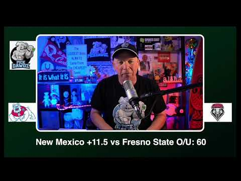 New Mexico vs Fresno State 12/12/20 Free College Football Picks and Predictions CFB Tips