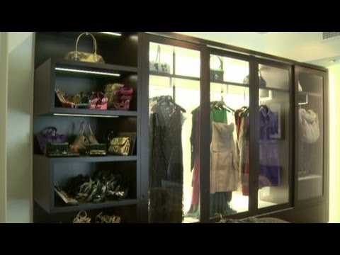 Peek Inside A $100,000 Luxury Closet   YouTube
