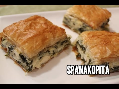Greek Spanakopita Recipe (Spinach Pie)