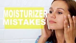 5 Biggest Moisturizer Mistakes | NewBeauty Tips and Tutorials