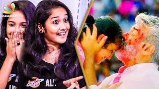 Ajith Uncle Calls me 'ENTE MOLAE' : Baby Anikha Surendran Viswasam Interview | Making