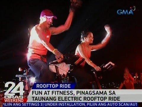 24 Oras: Fun at fitness, pinagsama sa taunang Electric Rooftop Ride