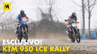 Test Esclusivo: KTM LC8 Rally Dakar 2003 di Gio Sala! [English sub.]