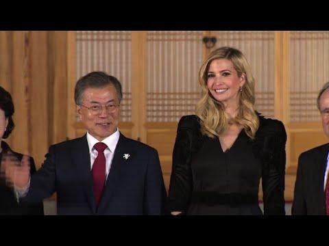 Oly-2018: Ivanka Trump dines with South Korea's President Moon
