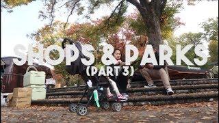 Shops, Parks & Ueno Zoo! Part 3 Japan Trip