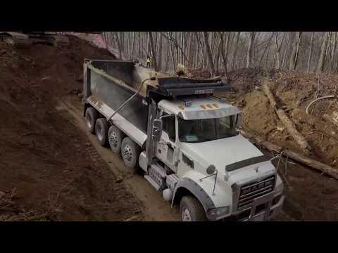 Moonshiner 28 Rockslide Update - Robbinsville, NC - 1 Month