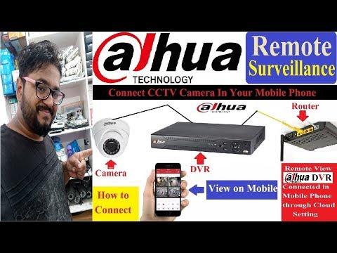 How to Remote View Dahua DVR! Remote Surveillance!
