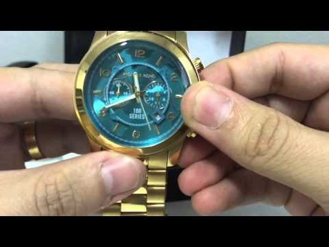 Unboxing Relógio Michael Kors MK5815 VF Relgios (PT-BR) HD