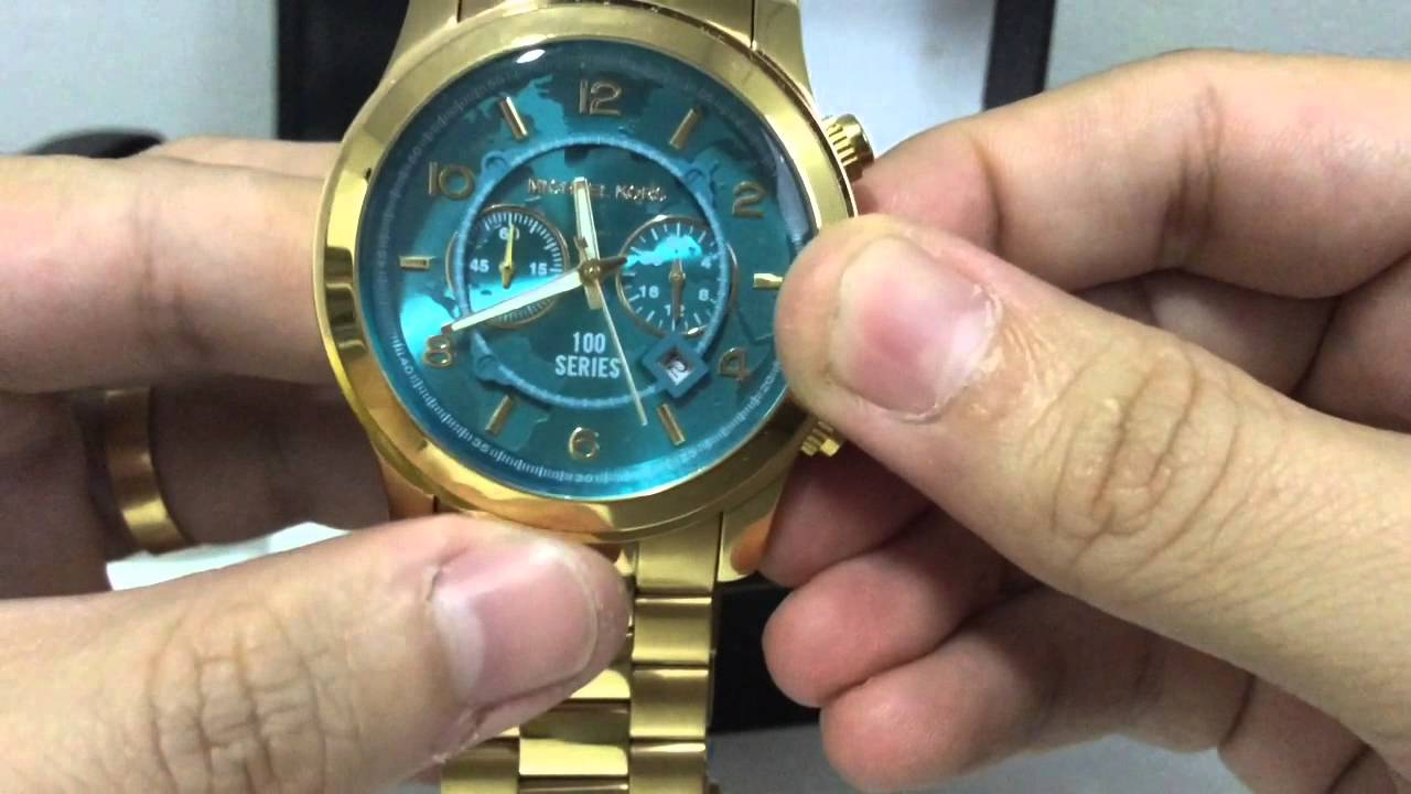64eb8e8a53f Unboxing Relógio Michael Kors MK5815 VF Relgios (PT-BR) HD - YouTube