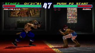 Tekken 2 - Arcade Version - Gameplay