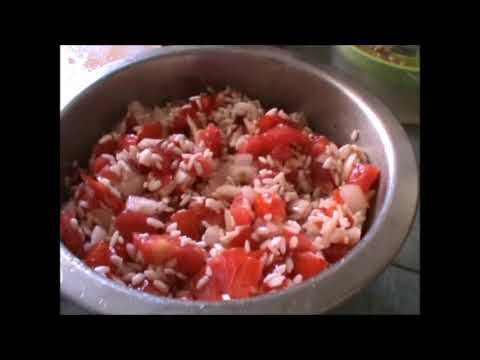 HOW TO COOK (KOUPEPIA) OR VINE LEAVES AND RICE