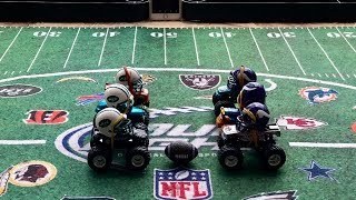 """MONSTER TRUCK FOOTBALL PLAYOFF GAME """"JETS VS VIKINGS"""""""