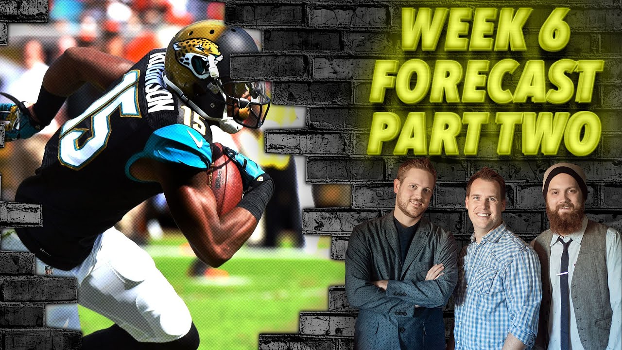 Download Week 6 Forecast Part Two - The Fantasy Footballers
