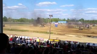 xdp monster truck backflip