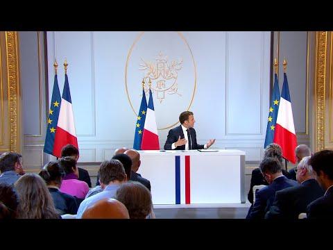 Les principales mesures économiques annoncées par Emmanuel Macron