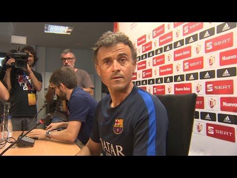 Luis Enrique no descarta regresar al Barça