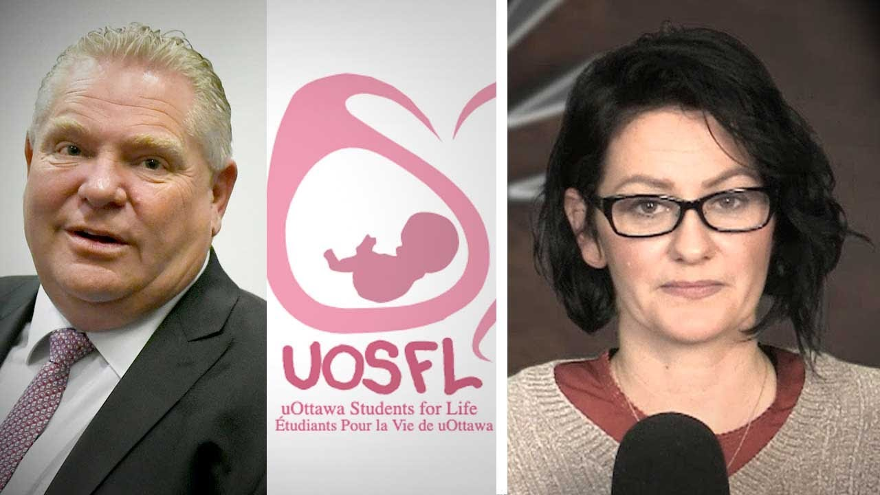 "Pro-life group loses official campus club status at U of Ottawa over ""principles"" 
