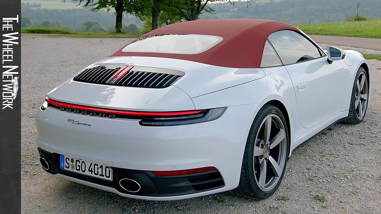 2020 Porsche 911 Carrera Cabriolet Carrara White Exterior Interior Youtube