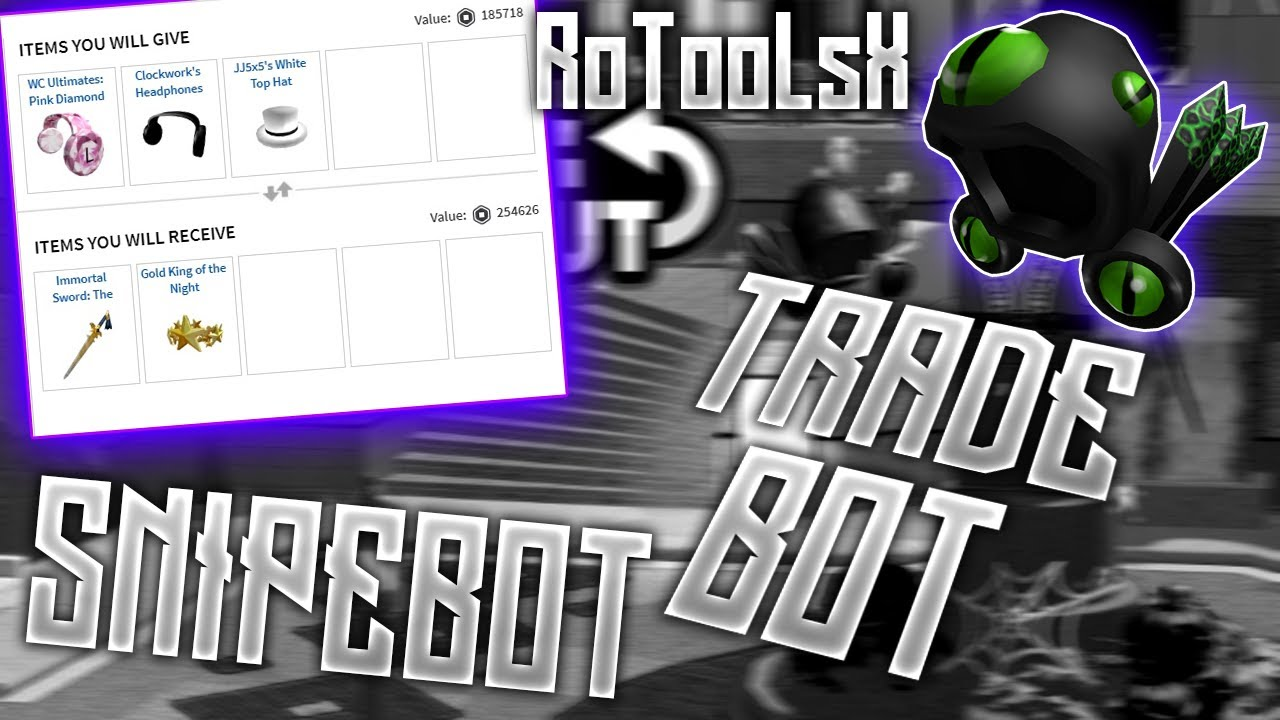 Roblox Trade Bot 2020 Working Unpatched Youtube