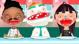 ГОТОВКА ЧЕЛЛЕНДЖ Жареный АРБУЗ Смешная веселая детская ИГРА как Мультик для детей ТОКА КИТЧЕН Видео