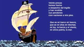 Canción del pirata. Espronceda