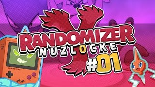 Pokemon Y Randomizer Nuzlocke w/ GameboyLuke - Episode 01 - CHOOSE OUR STARTER!
