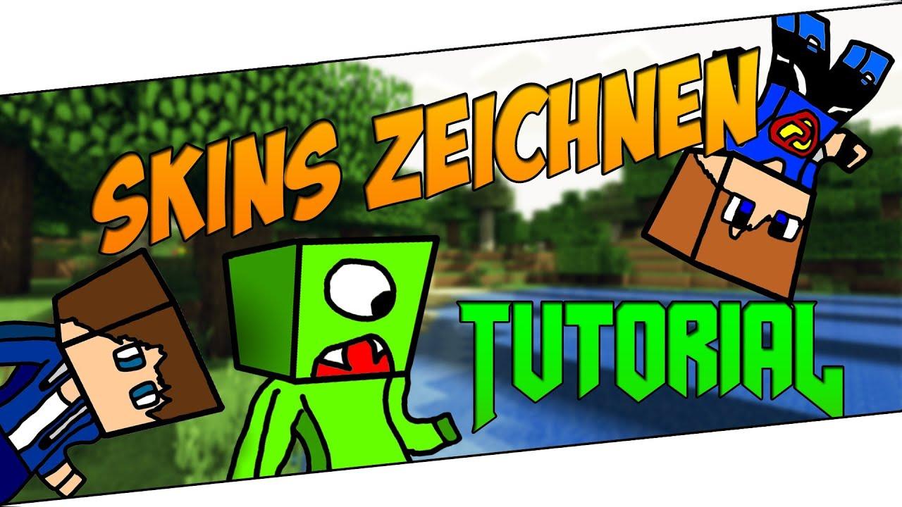 Minecraft Skins Zeichnen Cartoon Avatar Tutorial DeutschHD YouTube - Geile skins fur minecraft