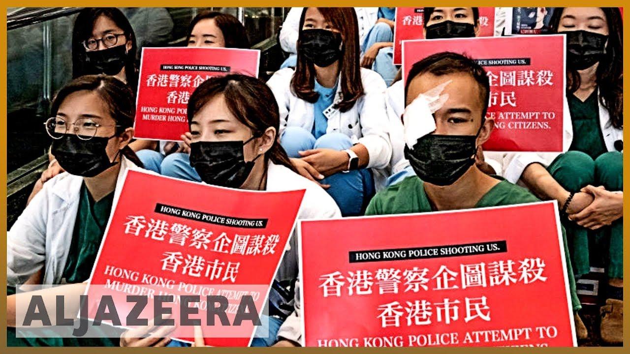AlJazeera English:Hong Kong protests: Generation gap on the streets