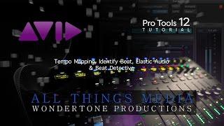 Pro Tools 12  Tutorial - Beat Detective - Elastic Audio - Identify Beat