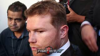 CANELO ON HIS RELATIONSHIP WITH GOLDEN BOY