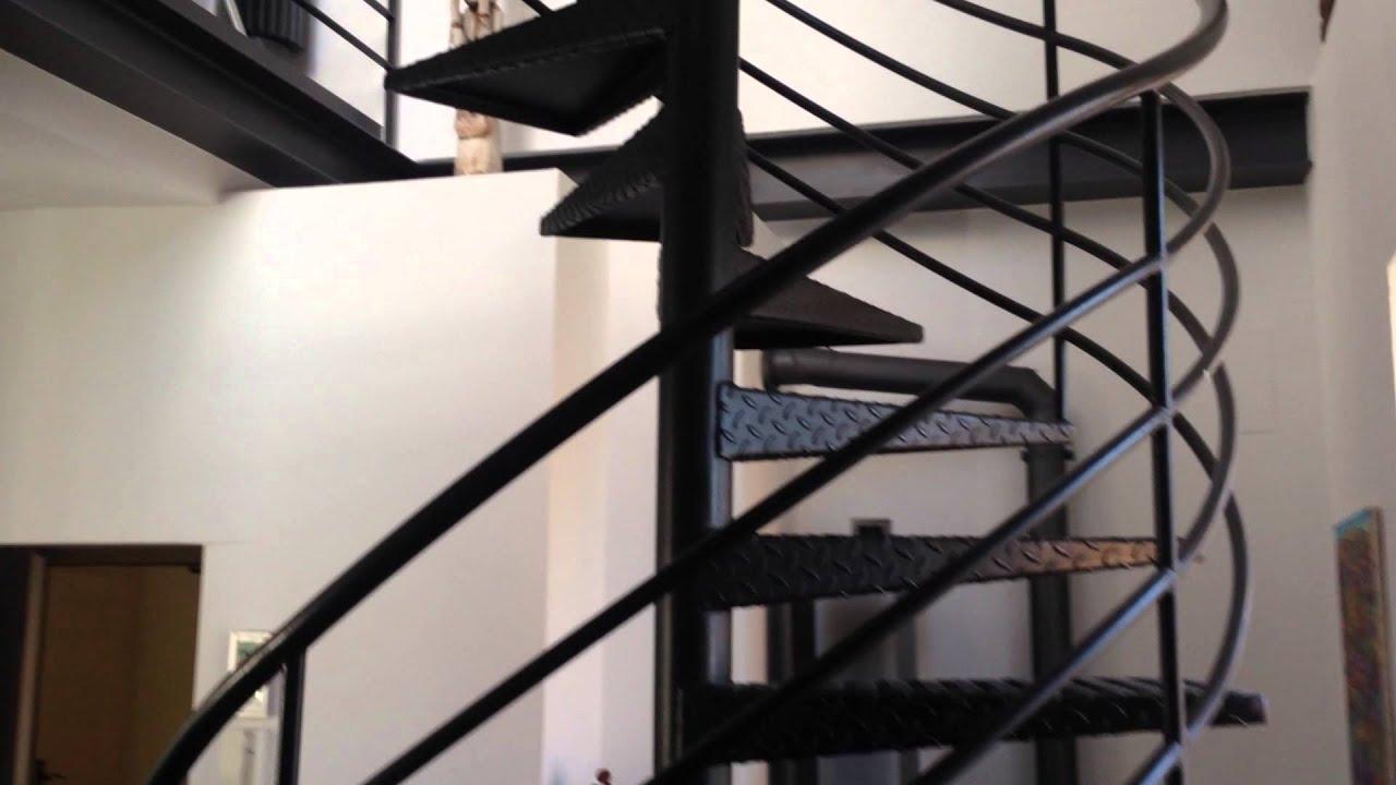 stahltreppen treppen spindeltreppen aus stahl heilbronn bei stuttgart youtube. Black Bedroom Furniture Sets. Home Design Ideas