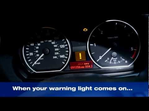 Bmw Warning Lights 1 Series >> dpf cleaning regeneration - YouTube