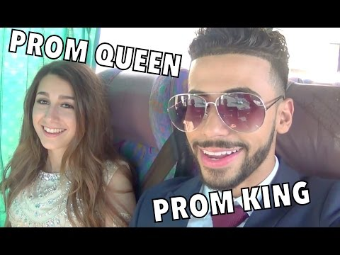 PROM KING AND PROM QUEEN!!!!!