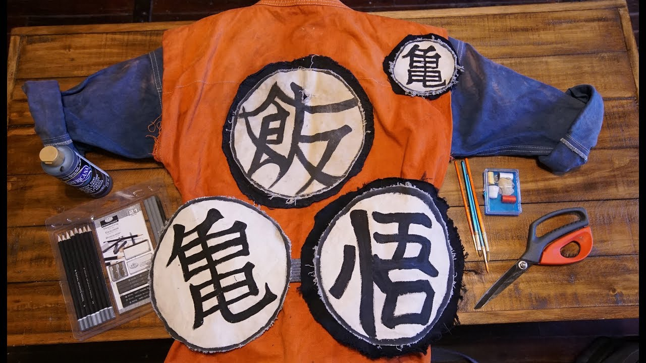 d97cbdf0678 DIY Goku   Gohan Gi Costume Tutorial - Most Realistic! - YouTube