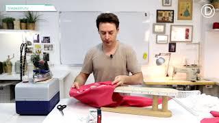 Практический Урок №45. Платье плотного прилегания из трикотажа. Начало отшива.