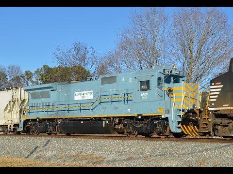 NS 119 at North Kannapolis with Savannah River Site B40-8. (1/20/18)