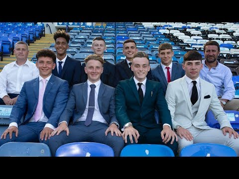 Pompey's New Apprentices Sign First Contracts And Receive Message From Kenny Jackett