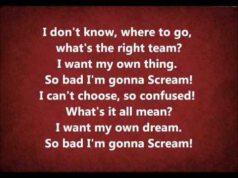 Scream Karaoke / Instrumental High School Musical 3 - Senior Year