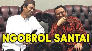 Ngobrol Santai Ustadz Abdul Somad Bareng Ustad Yusuf Mansur