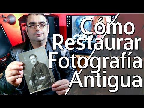 Cómo restaurar foto antigua dañada