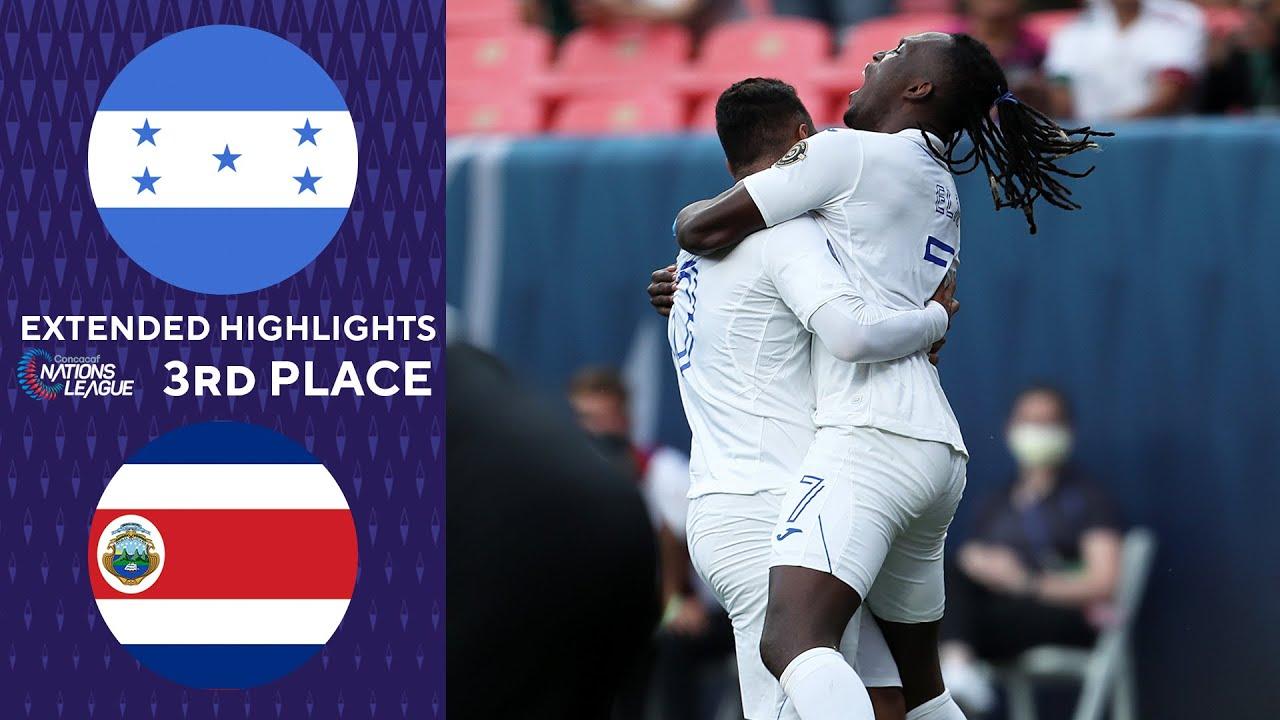 Honduras vs. Costa Rica score. Los Catrachos finish third at ...