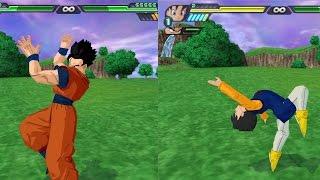 Gohan and Videl Double Stupid Great Saiyaman Transformations VS Future Gohan (DBZ Tenkaichi 3 Mod)