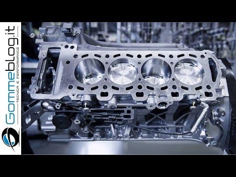 2020 AMG Engine V8 vs 4L - PRODUCTION (German Car Factory)